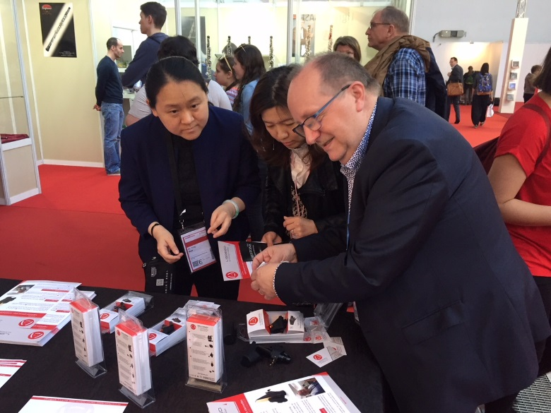 Musikmesse visitors were very interested in new Ligreed products