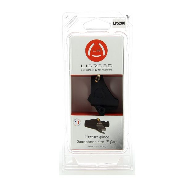New clip ligature for E flat saxophone with packaging